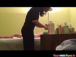 Massage Parlor Unexpected Handjob