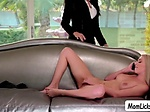 Reagan Foxx fingers and lick Riley Annes wet pussy