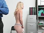 Shoplifter Abby Adams gets fuck by ...