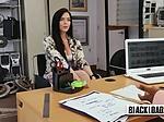 MILF Actress choking with Directors cock