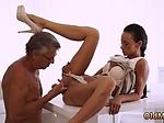 Teen strip dance Finally shes got her boss dick