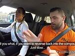 Huge tits Milf in fake driving school