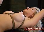 Bondage decoration Bigbreasted blonde sweetheart Crist