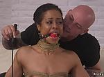 Life coach anal fucks tied up ebony
