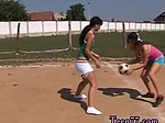 Spy public sex Sporty teens gobbling each other