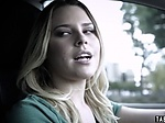 Naive teen lured into fuck during her driving lesson