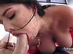 Luscious babe shows huge ass and gets anal hole rode