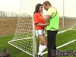 Teen panties Dutch football player humped by photograph