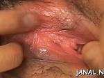 Chihiro Misaki is masturbating and enjoying it