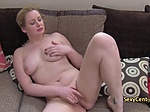 Chubby milf jizzed on casting interview