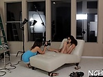 Chick in a hot casting show