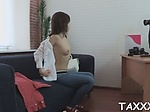 Marvelous young Iva Zan craves for fuck