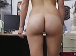 Latina beauty Alexis Deen fucks Shawns massive cock in