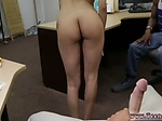 Handjob creampie Fucking Your Girl In My PawnShop