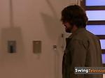 Interviewer welcomes Amateur swinge...