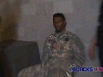 Imprisoned soldier begs for mercy as these cops subdue