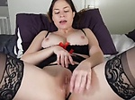 Sexy Latina Screams With Pleasure