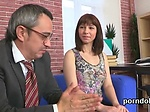 Ideal schoolgirl was seduced and nailed by her senior t