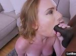 Big ass MILF PAWG gets interracial anal fucking