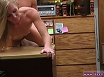 Mature amateur swinger party Blonde stupid tries to sel