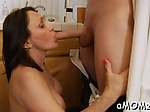 Skillful mature impaled on cock