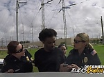 Three female police officers arrested a black guy