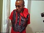 Hardcore music complication Black Male squatting in hom