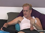 Nymphos nail dudes anus with big strapons and blast cum