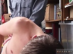 Police gay muscular show cock and video of cops first t