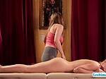 Hottie masseuse Lena licks and fingers Zoeys sweet puss