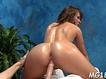 Wicked nymph Callie Calypso gets licked and teased