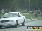 Shady robber is coerced by horny milf cops into demolis