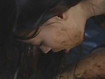 Two asian chicks puke piss and hump each other
