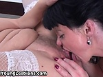 Two horny mature wifes in sexy stockings love having le