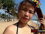 HARDCORE bisexual THREESOME after the beach with TWO Fi