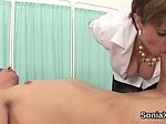Unfaithful uk milf lady sonia flashes her massive boobi