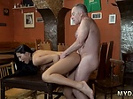 Old young office xxx Anna and her boyassociate came to
