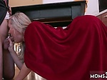 Milf watching porn Halloween Special With A Threesome
