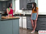 Stepteen wants to tastes her stepmo...