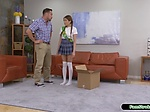 Asian teen scout is asslicked by stepdad