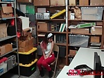 Hot teen got dicked on the office desk